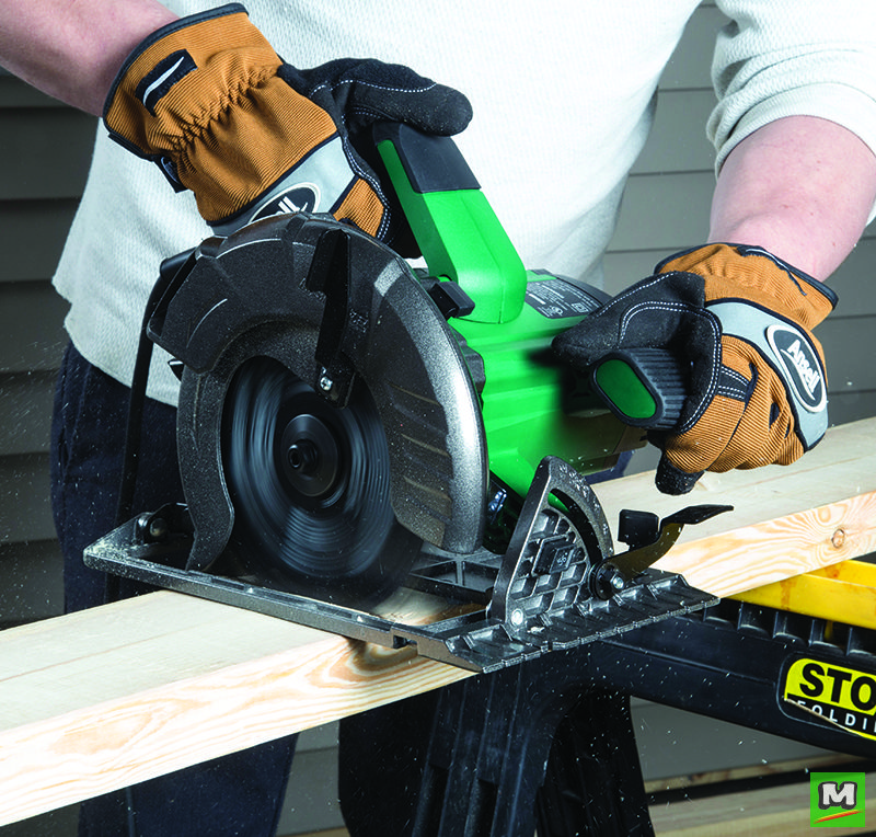 The Masterforce 15 Amp Circular Saw Is Packed With Power For The Toughest Applications Equipped With A Dual Led Work Li Power Saws Circular Saws Circular Saw