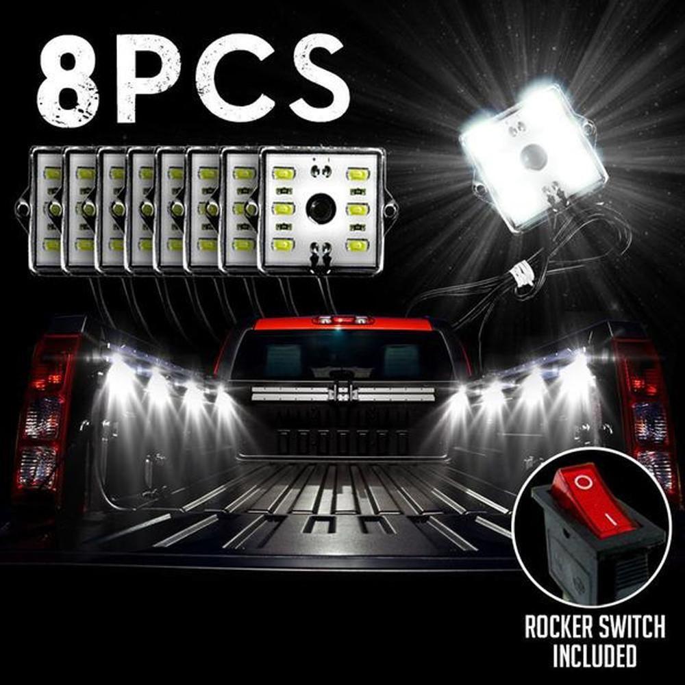 8pc Truck Bed Led Lights Truck Bed Lights Bed Lights