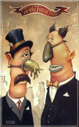 Mateo Dineen - Illustration - The Society of Formal Noses