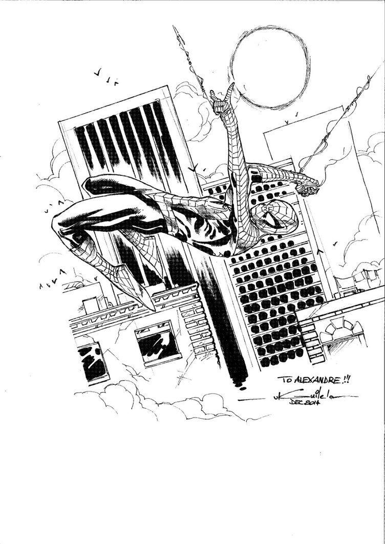 Spider-Man - Drink'n'Draw Coquelles by SpiderGuile on @DeviantArt