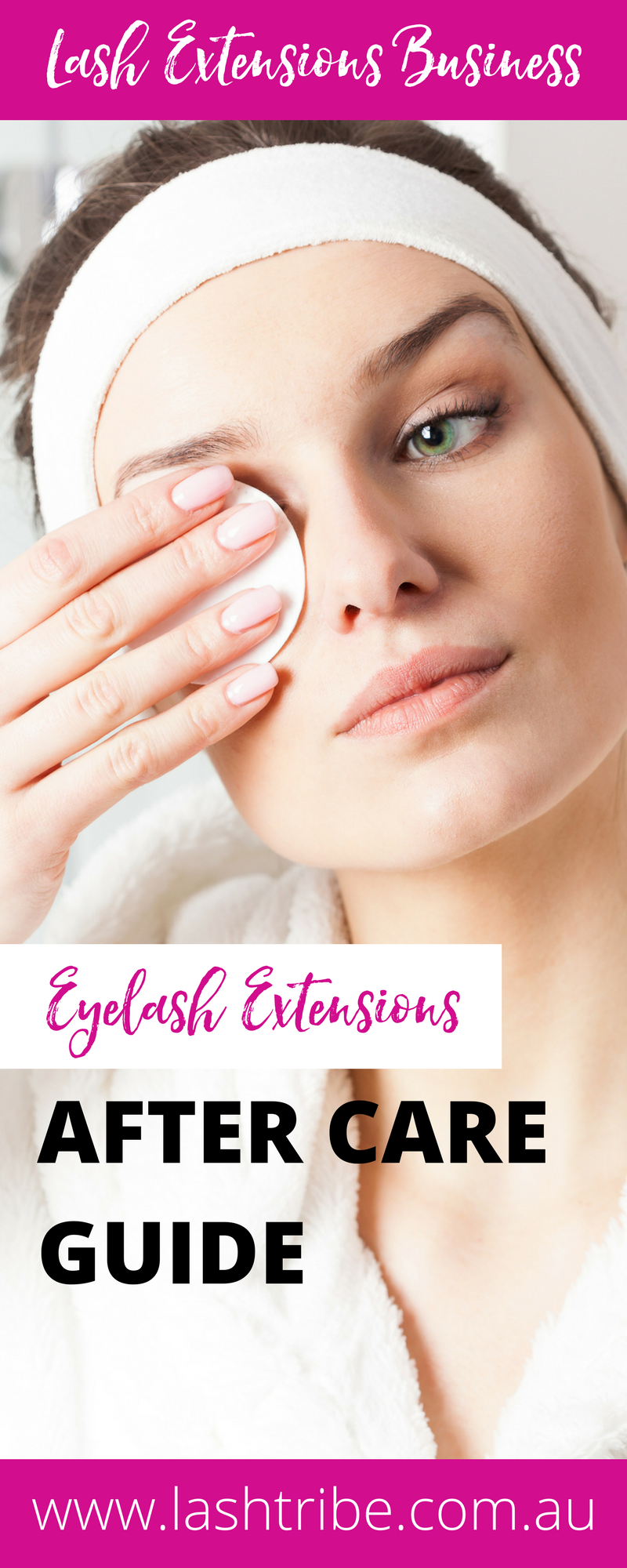 The easy way to care for your eyelash extensions: If you are a Lash Tech that had proper training you will know the importance of cleaning your lash extensions. If you are not really sure then hopefully you will have a better understanding on how to clean your eyelash extensions with this blog post and video at http://lashtribe.com.au/2017/01/27/how-to-clean-your-eyelash-extensions/ | Lash Care Tips