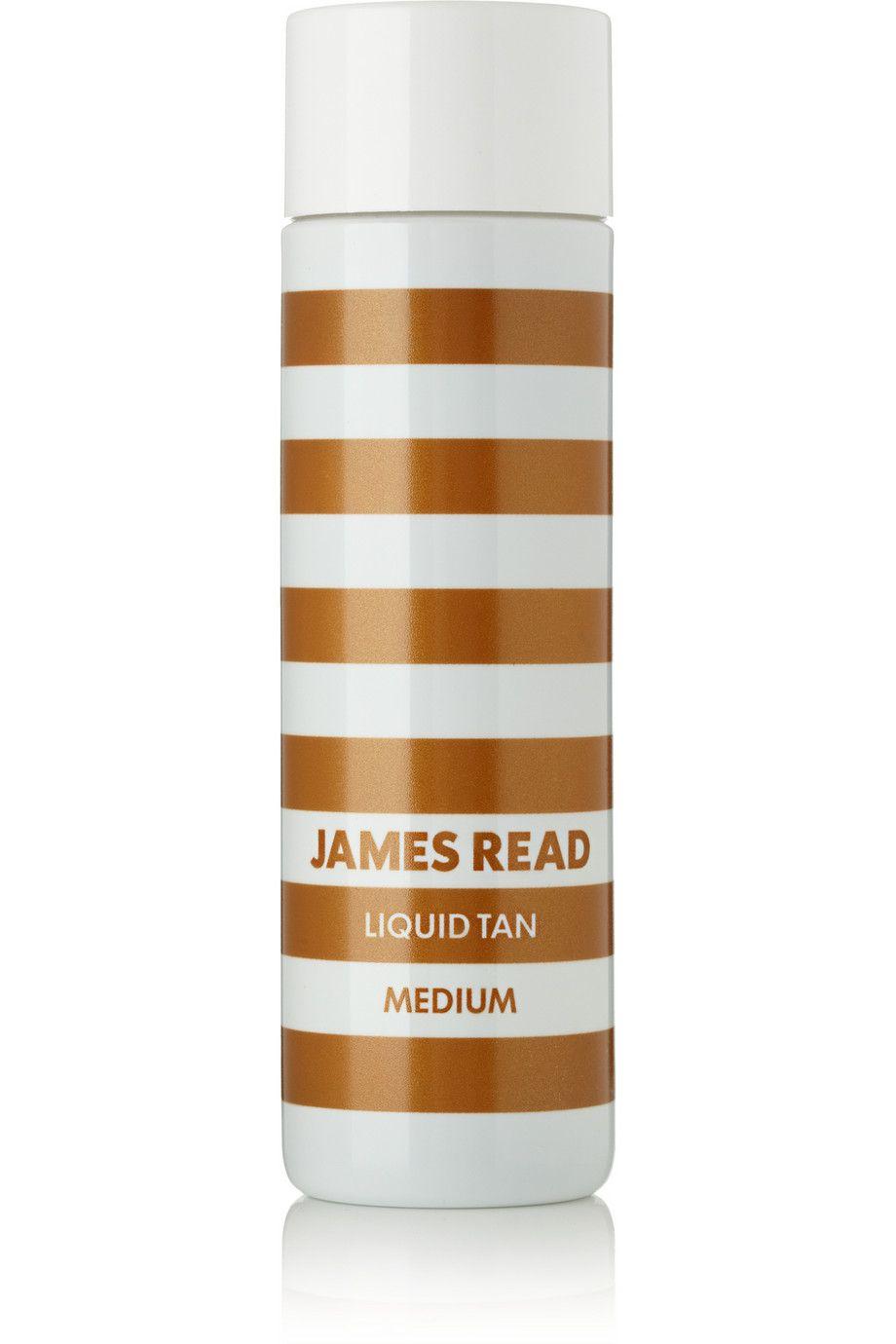 James read liquid tan medium according to wayne goss