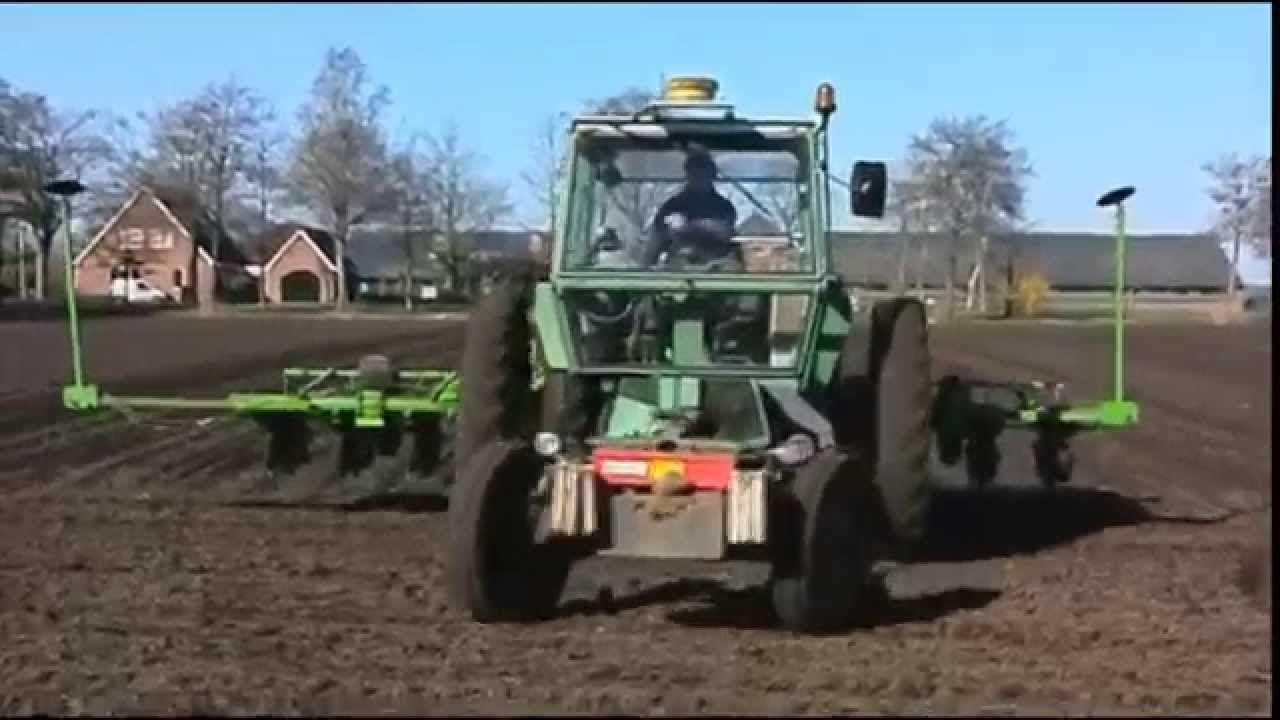 Fendt  Gt Met Topcon Gps Syteem Suikerbietenzaaien Trekkerweb Tractor Tractors
