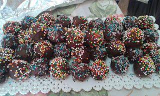 la cucina di nonna papera : Praline al cioccolato