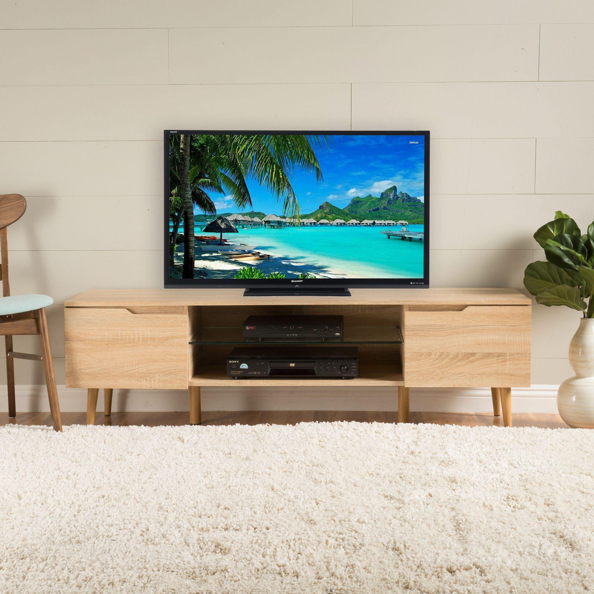 Reginald Mid Century Design TV Stand Reginald