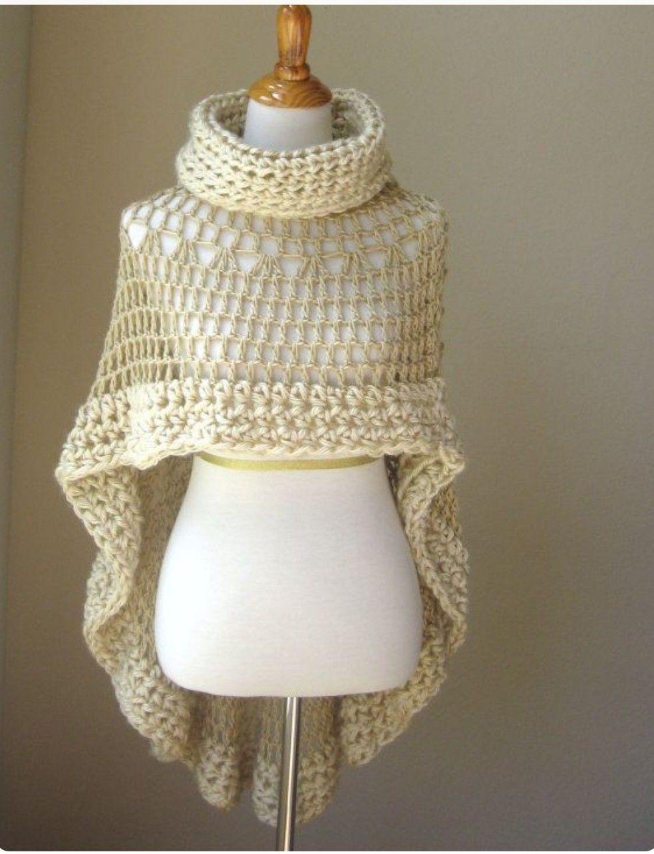 Pin de Dalia Jimenez en Moda Crochet en 2018 | Pinterest | Chalecos ...