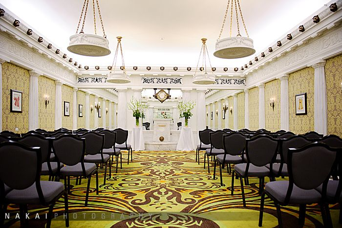 A small intimate wedding at the Blackstone! Audrey + Tim's ...