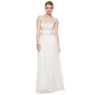 Debut Ivory Embellished Bridal Dress At Debenhams Ie Embellished Wedding Dress Wedding Dresses Under 500 Dresses