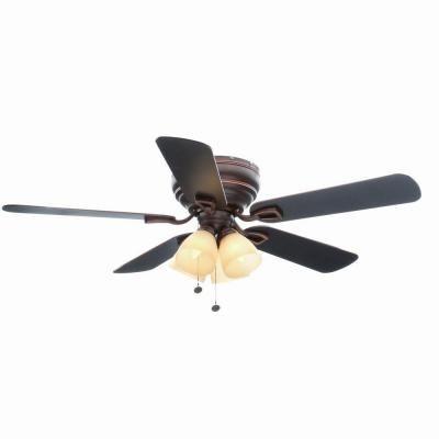 Hampton Bay Hayward 52 In Mediterranean Bronze Ceiling Fan 51332