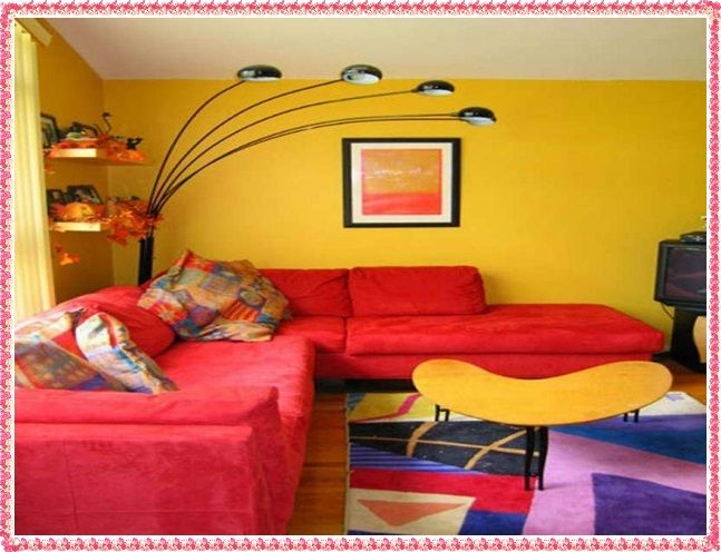 Image result for creative wall color combinations for living room ...