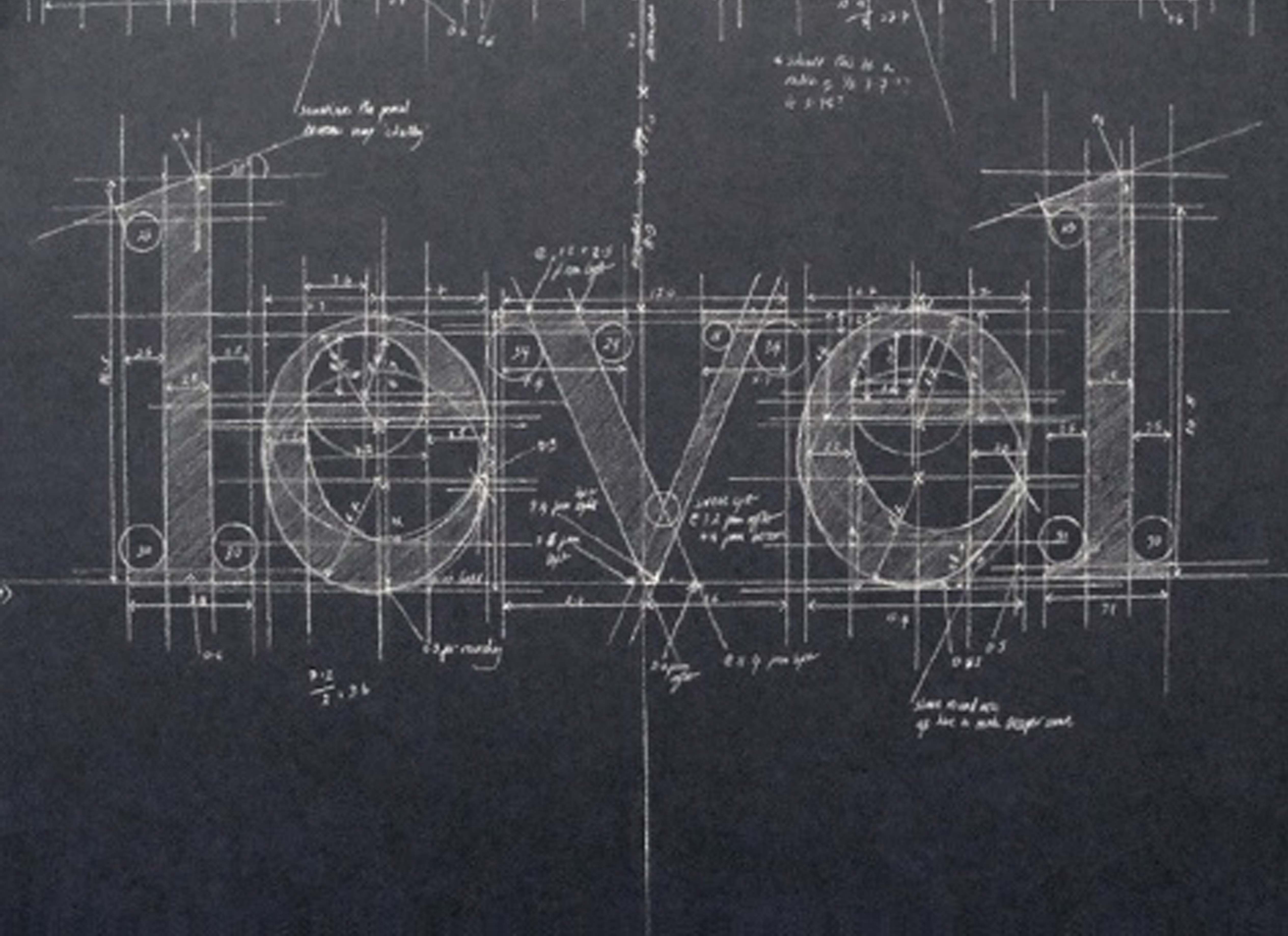 Love blueprint words pinterest meticulous blueprint chalk typography by liz collini how do they do that wo smudging the chalk malvernweather Choice Image