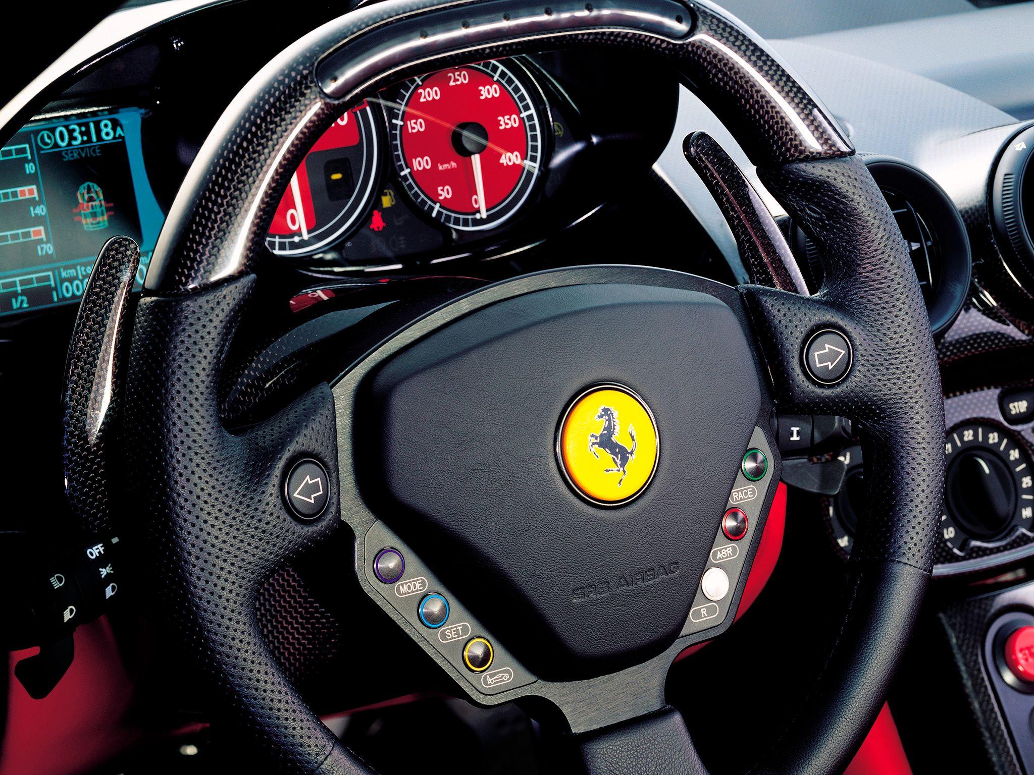 Ferrari Enzo Steering Wheel.