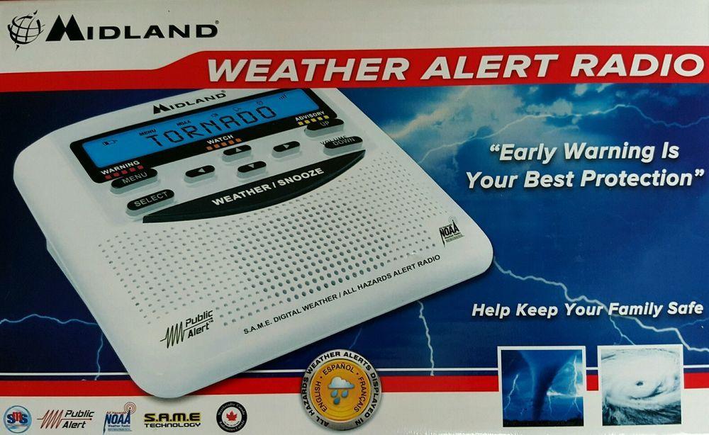 Midland WR-120 Clock Radio #Midland