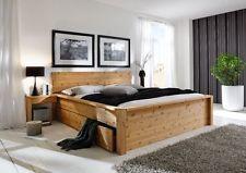 Dettagli su letto matrimoniale in legno massello vario cm