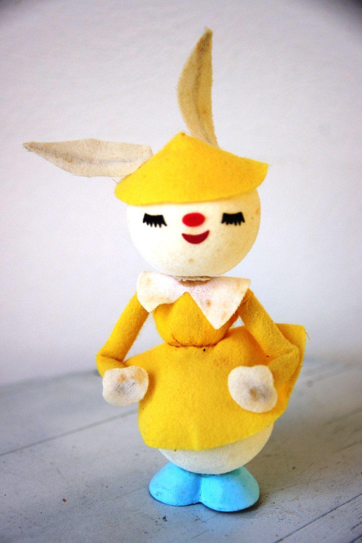 Vintage 1960s Mrs. Bunny