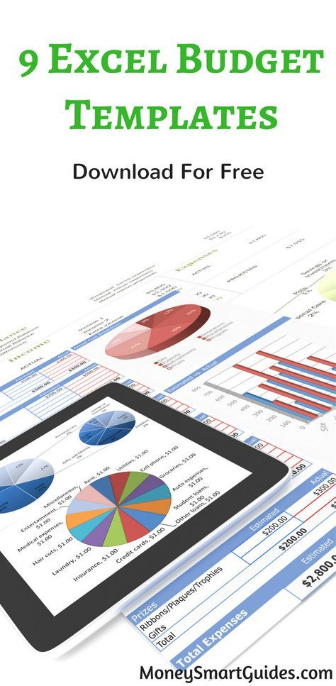 10 Free Excel Spreadsheet Templates To Help Explode Your Wealth - free download budget spreadsheet