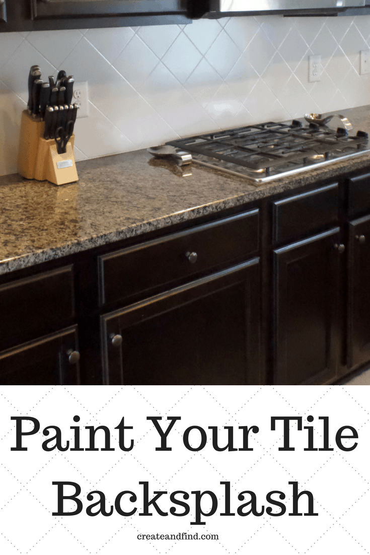 Painting Tiled Kitchen Backsplash  A Complete How To Guide is part of Diy kitchen backsplash, Painting kitchen tiles, Painting tile backsplash, Diy kitchen, Diy backsplash, Painting tile - If you've considered painting tiled kitchen backsplash, this is the post for you  I'll show you how to do it, what to use, and how affordable it really is!