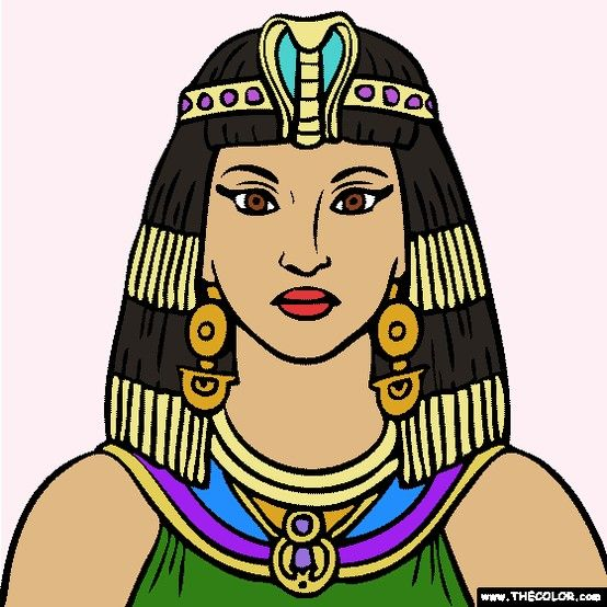 New Cleopatra coloring page Cleopatra was the last Pharaoh of