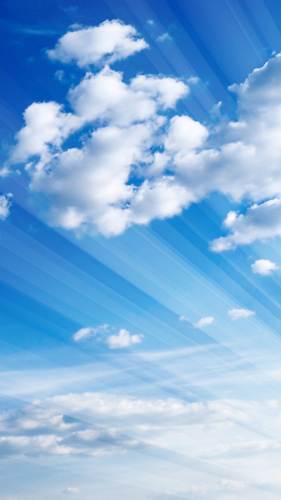 Blue And Silver Wallpaper Blue Sky Wallpaper Blue Sky Clouds Clouds