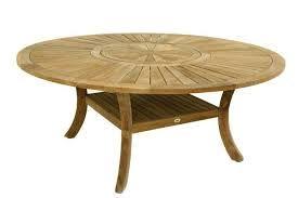 leclerc table de jardin teck