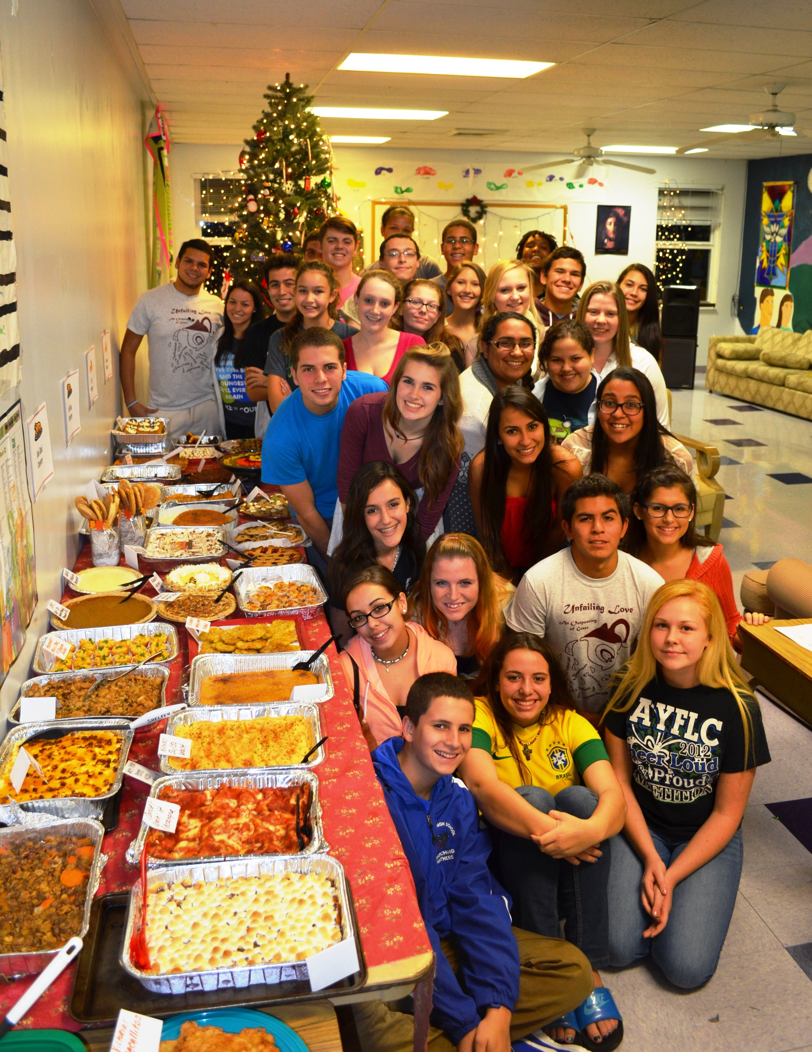 Thanksgiving CookOff YOUTH GROUP Style!!! Youth group