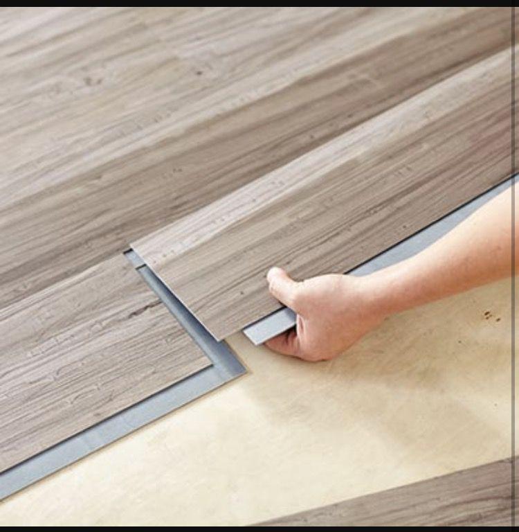 Greyish Kitchen Tile Luxury Vinyl Plank Flooring Vinyl Flooring Installation Vinyl Flooring