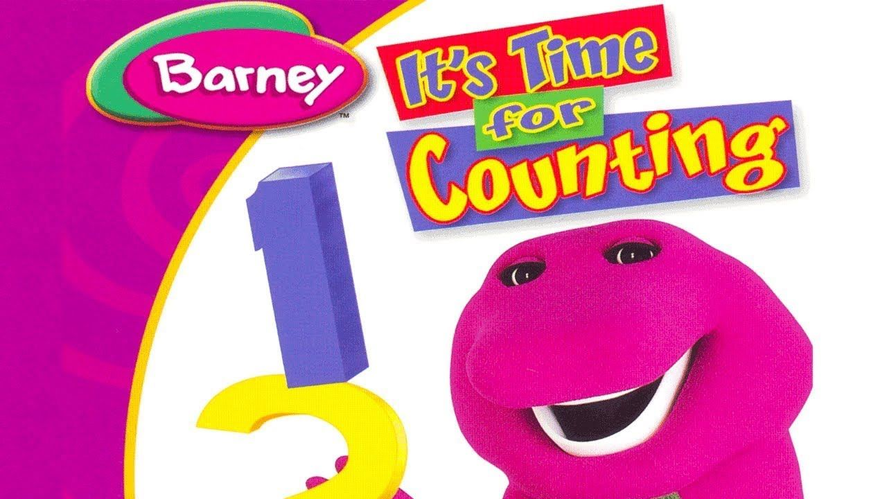 Barney Time For Counting Barney & friends, Barney