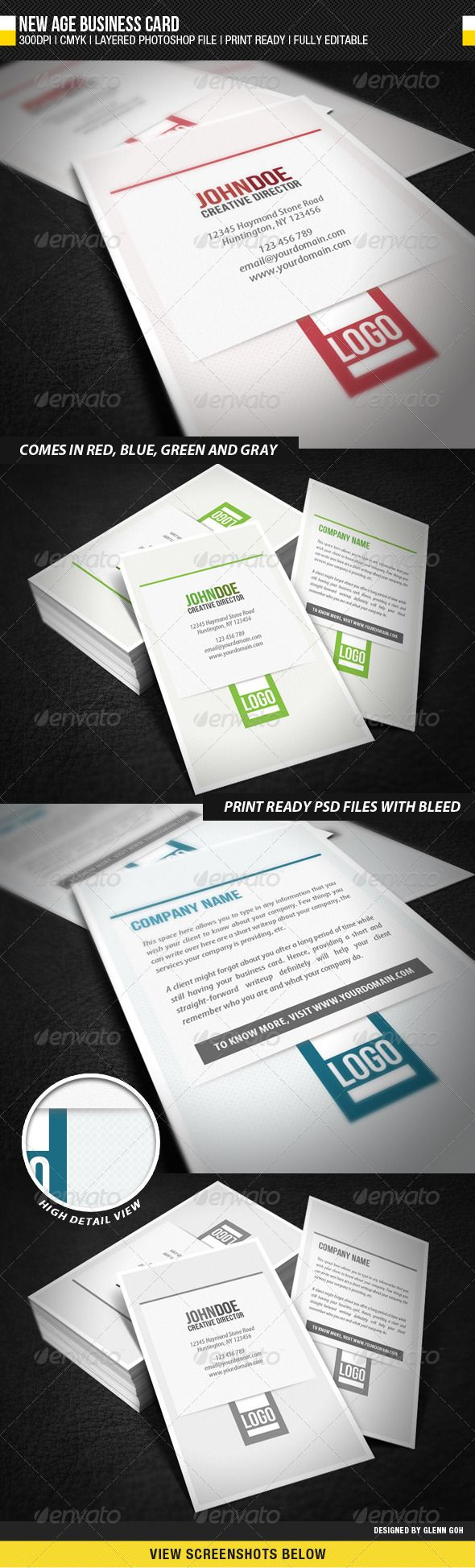 New Age Business Card   Business cards, Business and Print templates