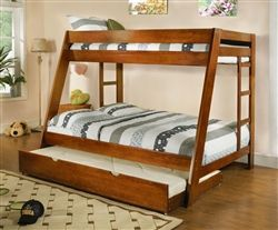 Harper Champagne Twin Canopy Bunk Bed Twin Full Bunk Bed Bunk