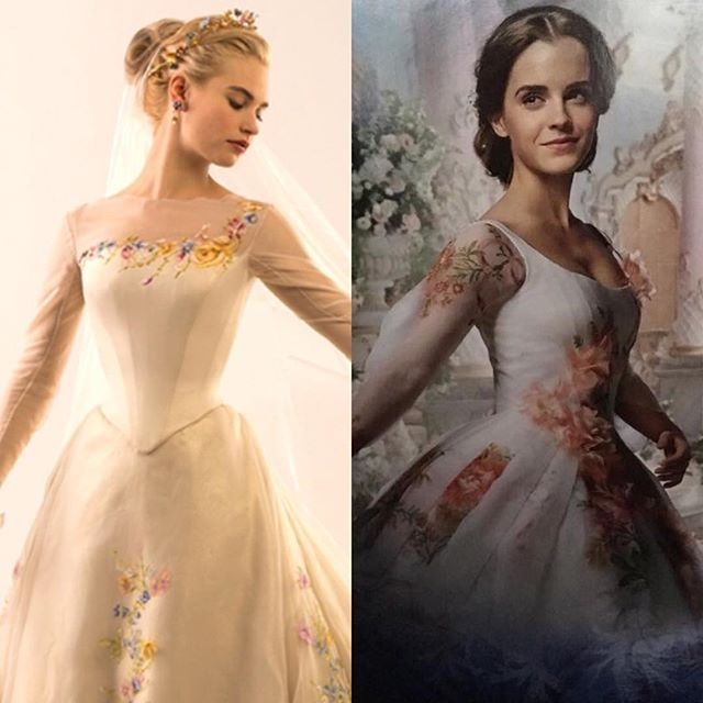 We Officially Have Our First Look At Belle's Wedding Dress