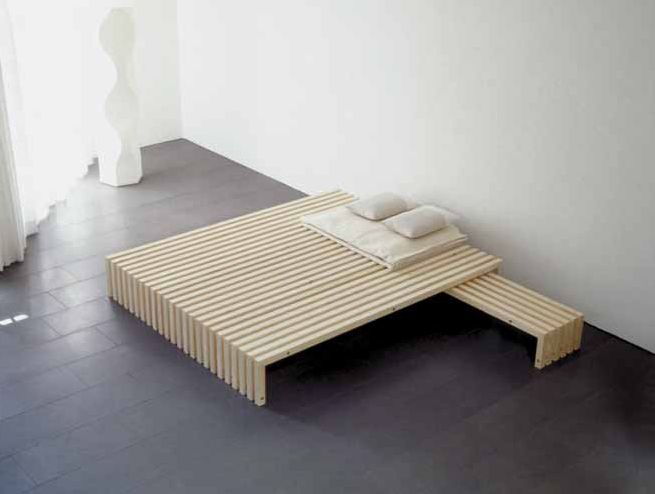 schicke und un bliche bettrahmen ideen auch zum selber bauen dekomilch furniture. Black Bedroom Furniture Sets. Home Design Ideas