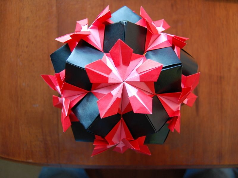 The Origami Forum • View topic - Help with Pentakis kusudama? | 600x800