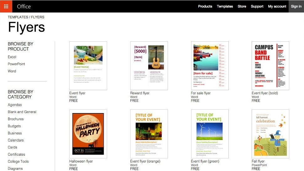 Get great free templates and awesome themes for Microsoft Office