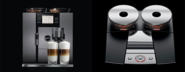Jura GIGA 5 kopen review: een volautomatische koffiemachine - https://www.vivakoffie.nl/jura-giga-5-kopen-review-een-volautomatische-koffiemachine/ Met dit koffiezetapparaat van €4000,= haal je een barista in huis!  Voordelen:  Barista instelling brengt koffiezetten naar een hoger niveau Zet snel koffie Melkschuimfunctie is gelijk aan kwaliteit die je in een koffieshop krijgt.  Nadelen:  Duur Heeft veel onderhoud nodig   Onze score: 9...