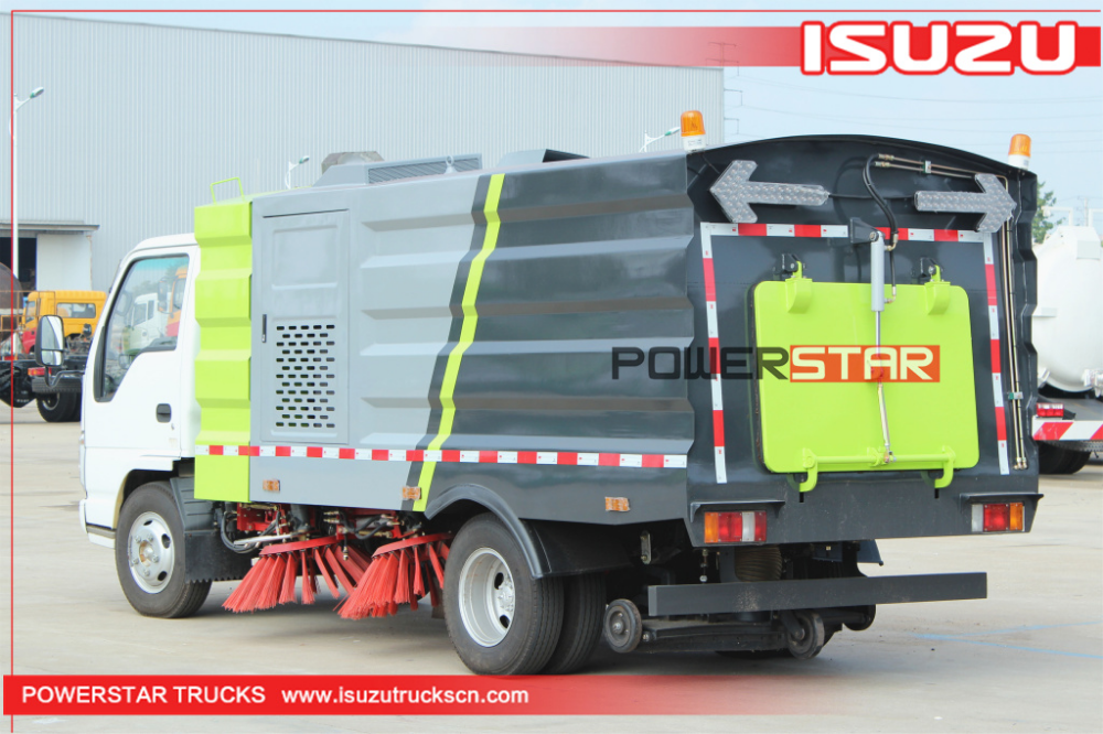 Street Sweeping Vehicle Isuzu for sale www.isuzutruckscn