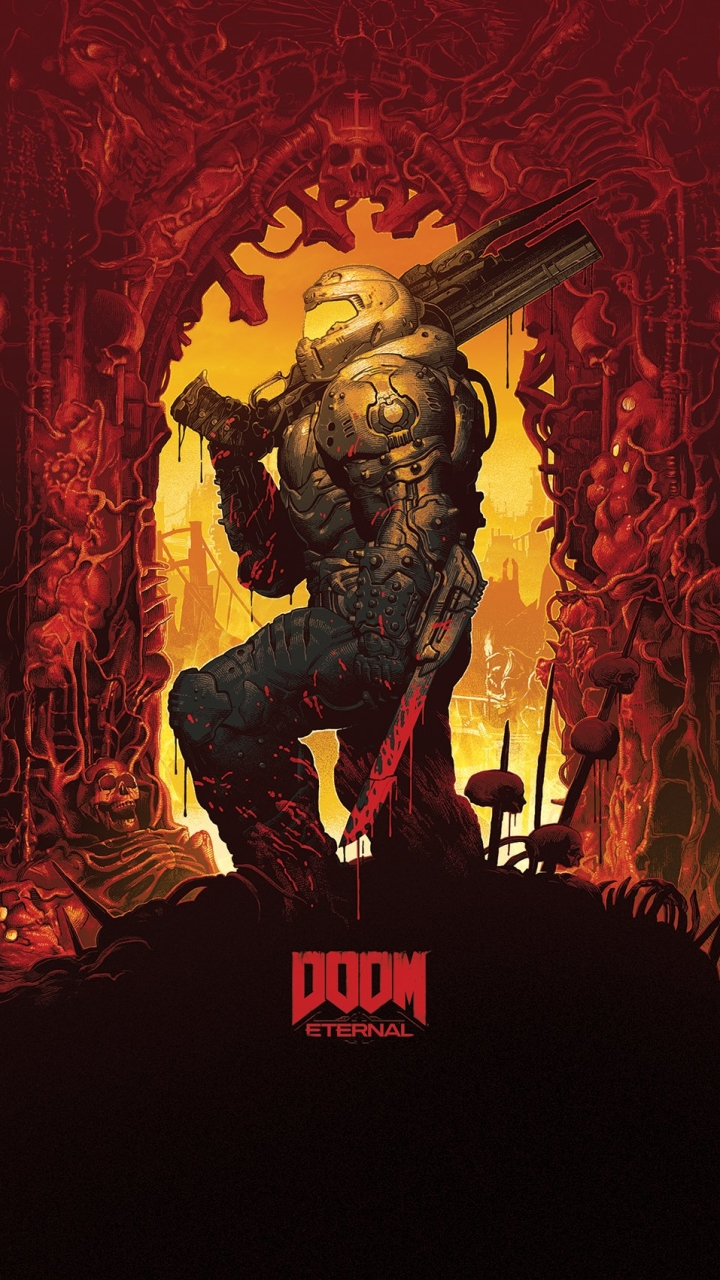 Video Game DOOM Eternal Doom Doom (2016) (720x1280) Mobile
