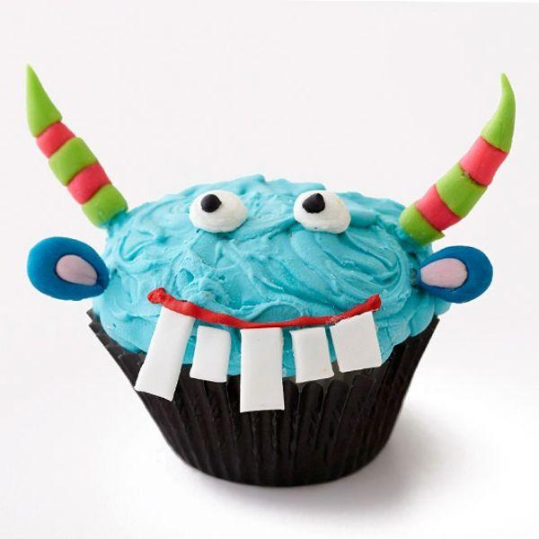 Grusel Muffins backen halloween gebäck cupcakes für halloween