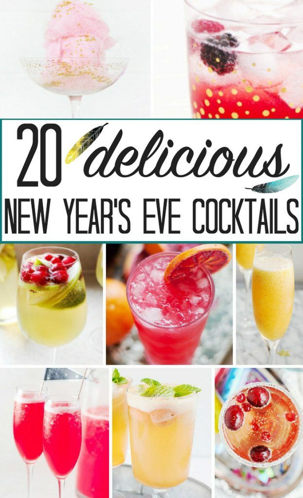 New Years Cocktail Party Ideas Part - 47: 20 Popular New Yearu0027s Eve Cocktails