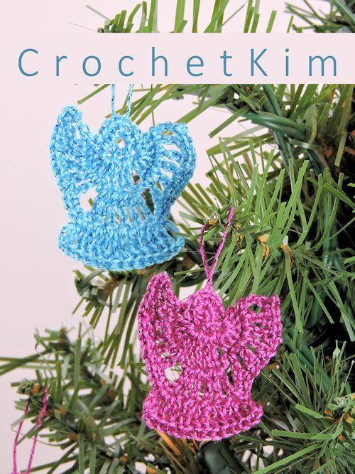 Mini Angel Ornaments | Adornos navideños, Cosas lindas y Adornos