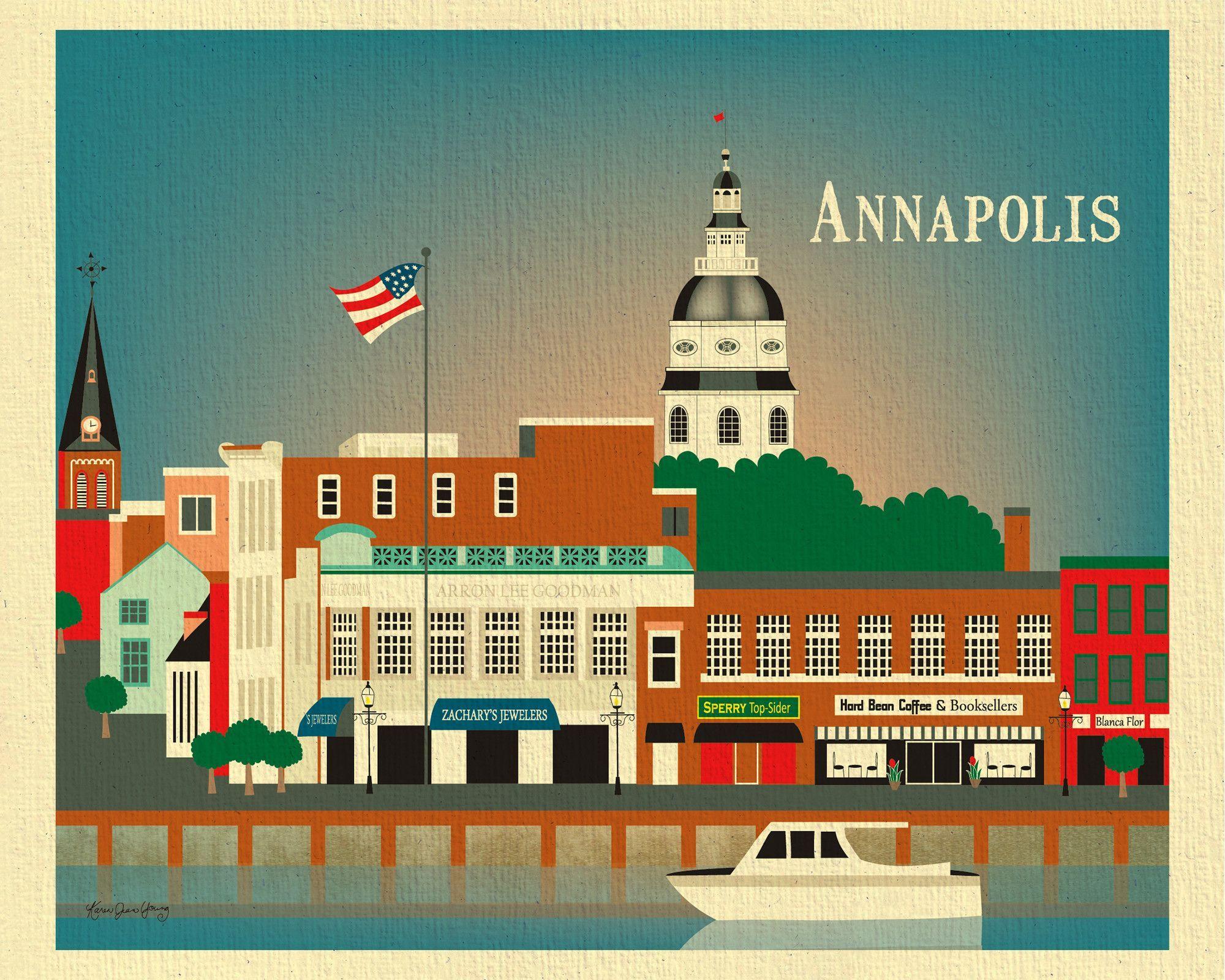 Annapolis Maryland Art City Prints Annapolis Maryland Annapolis