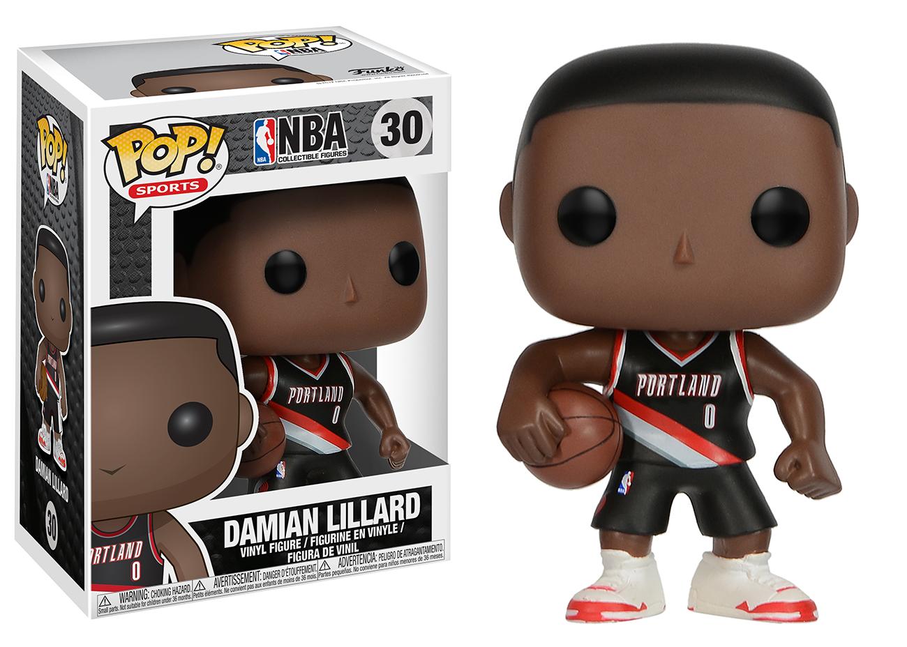 Pop Sports Nba Damian Lillard Vinyl Figures Julio Jones Pop Figurine