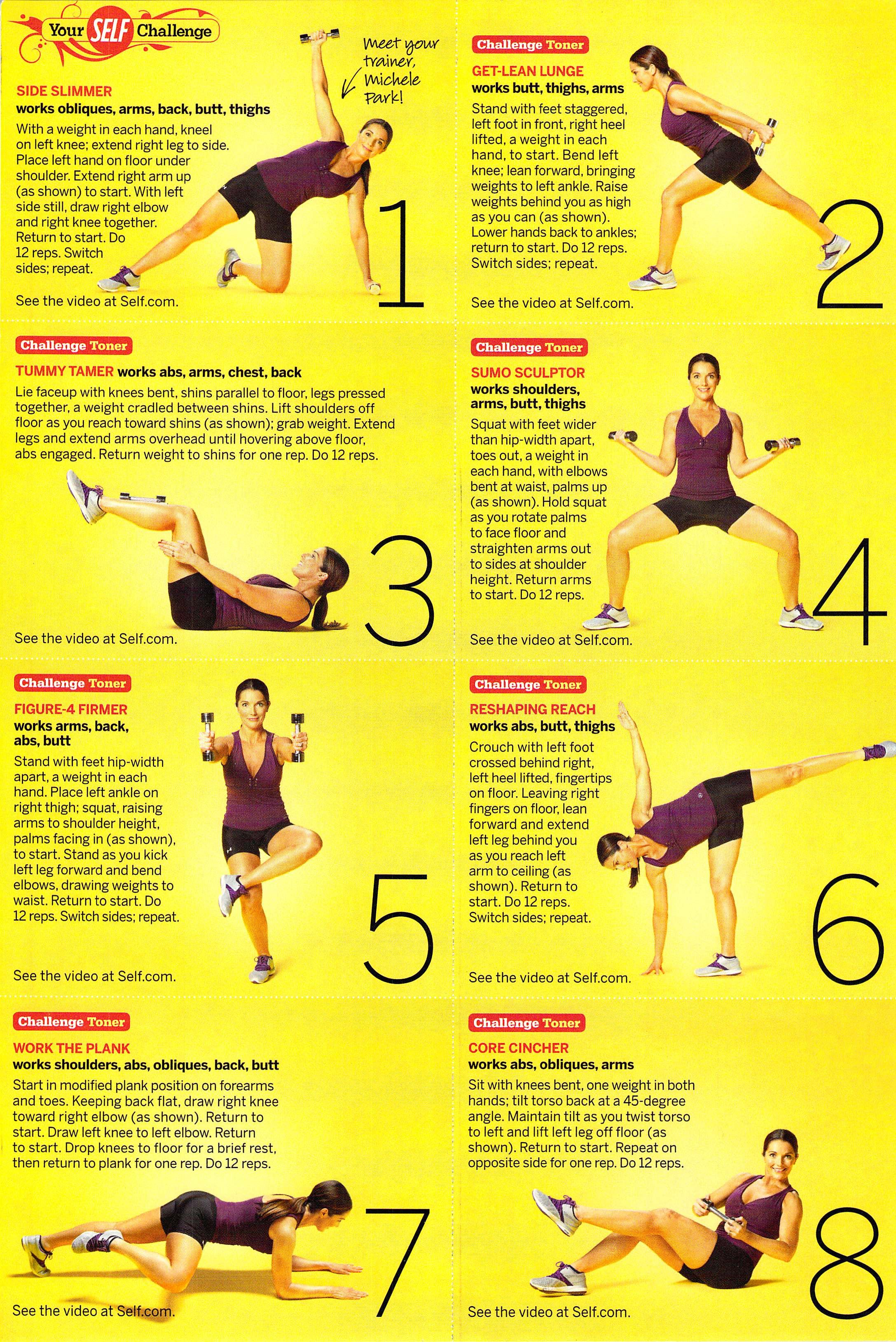Self Challenge 1 Challenges Heel Lifts Toner