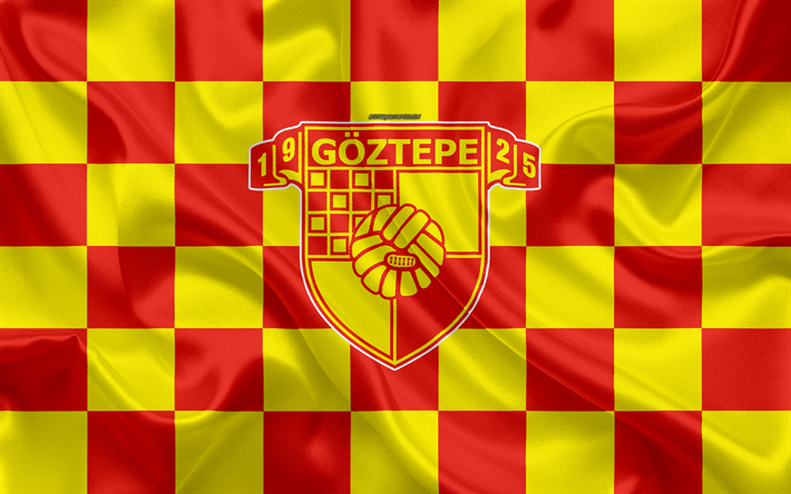 Download wallpapers Goztepe SK, 4k, logo, creative art