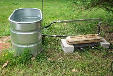 Diy hot tub in 2019 lake stuff outdoor tub soaker - Homemade swimming pool heat exchanger ...