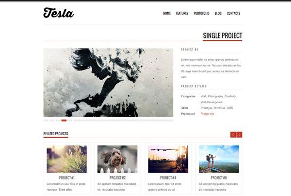 Free WordPress Theme: Tesla #Freebie #WordPress   Web Design ...