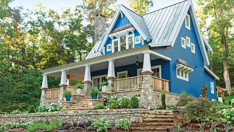 This Old House Cottage | Call the contractor, honey! We hope the builder is on standby because one look at these classic Southern homes and you'll want to move right in. From wide porches, stately columns, and cozy cottage details—there's something to appeal to every Southern style.