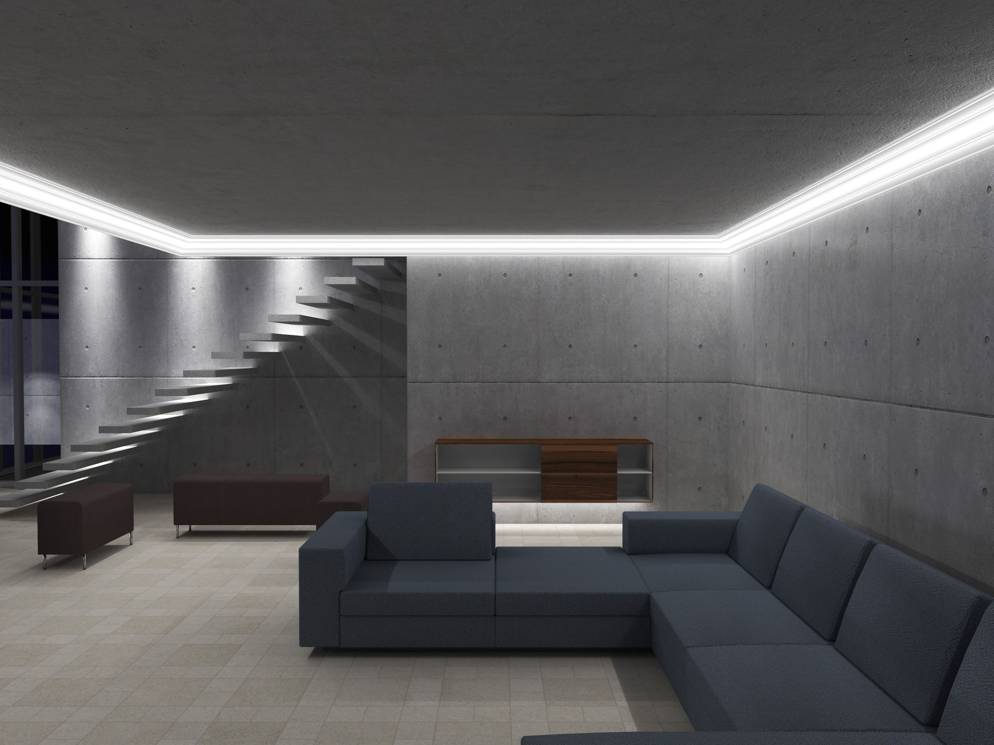 Stuccolight Startseite Trockenbau Decke Abhangen Trockenbau Indirekte Beleuchtung