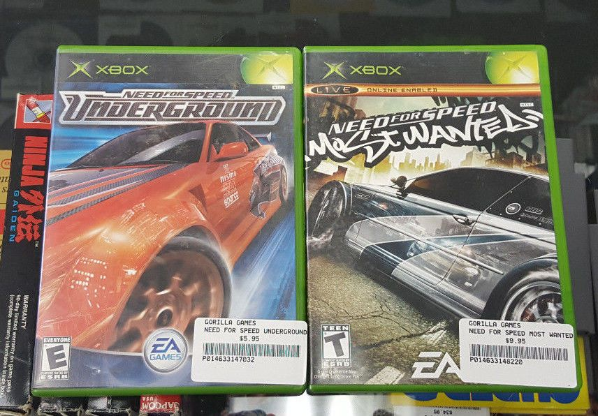 Need For Speed Most Wanted Need For Speed Underground