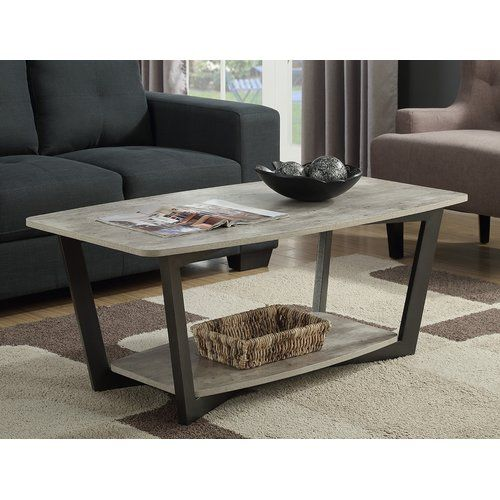 Found It At Wayfair Anissa Coffee Table With Magazine Rack Living Room Coffee Table Coffee Table Furniture Coffee Table