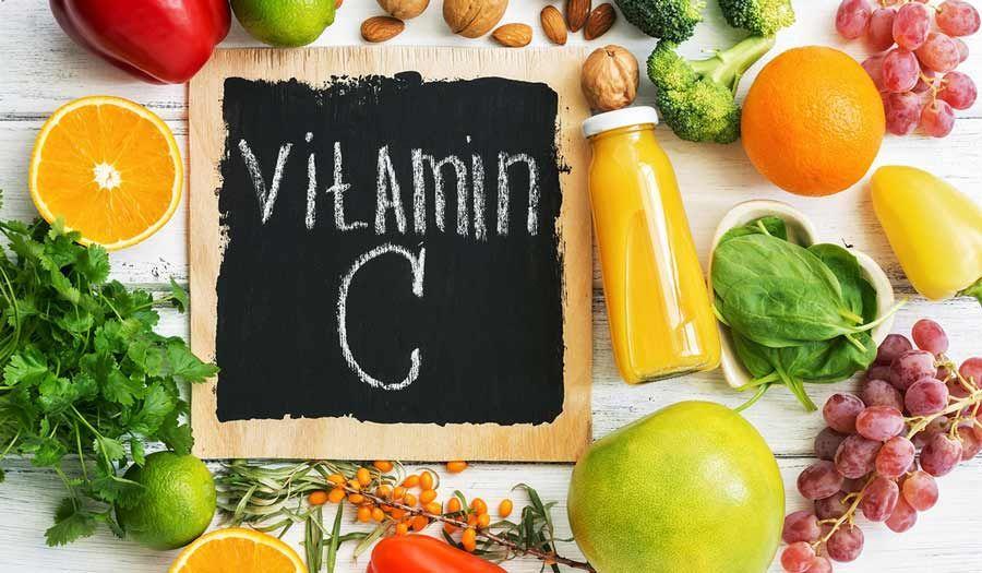 أطعمة غنية بفيتامين ج Vitamins Vegetables Fruit